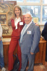 Paola Catapano e Giuseppe Biagi jr a La Spezia