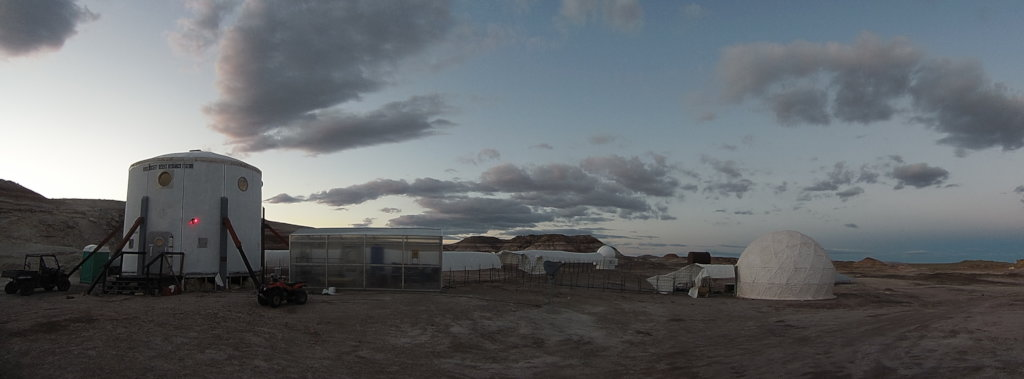Mars desert research station