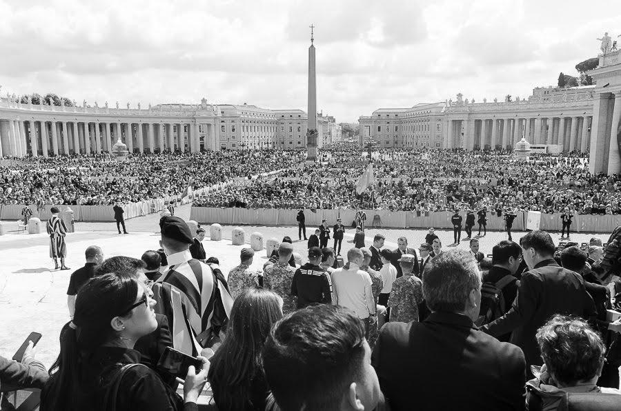 Piazza S. Pietro il 22 maggio
